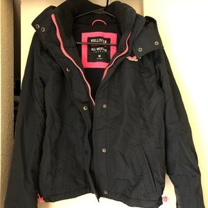 Hollister girls size medium all weather jacket